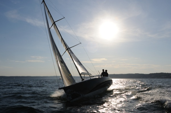 Segelschiff auf der Ostsee - Bootspolster von Lenschau-Design